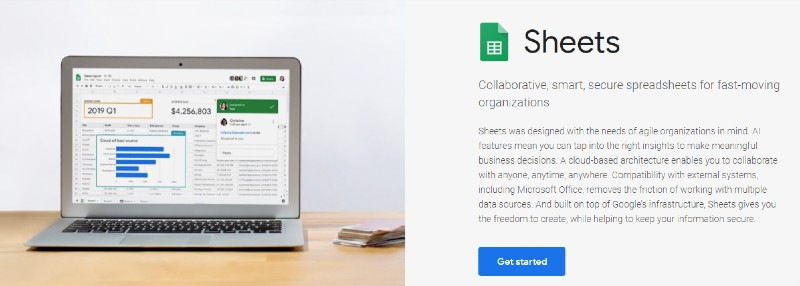 Google Sheets - Is GSuite Too Much For A One-Person Business