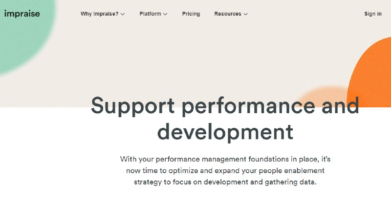 Impraise - Best Performance Management Software