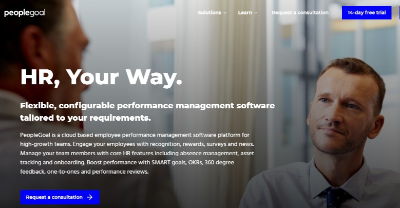 PeopleGoal - Best Performance Management Software
