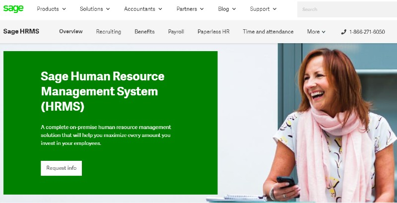 Sage HRMS - Best Human Resources Software for Startups