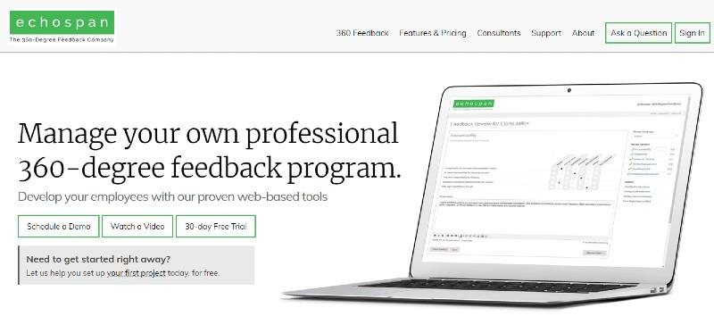 EchoSpan - Best 360 Degree Feedback Software