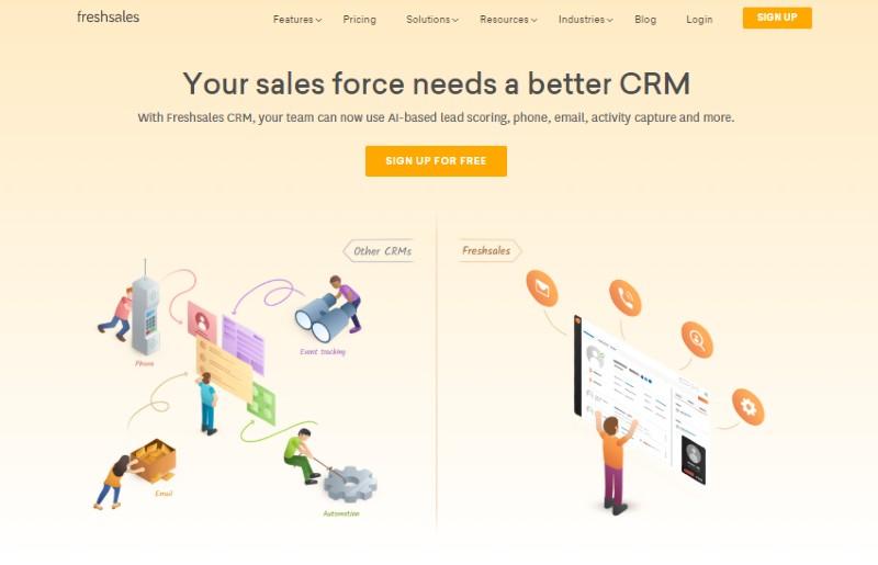 Freshsales - Best Lead Management Software