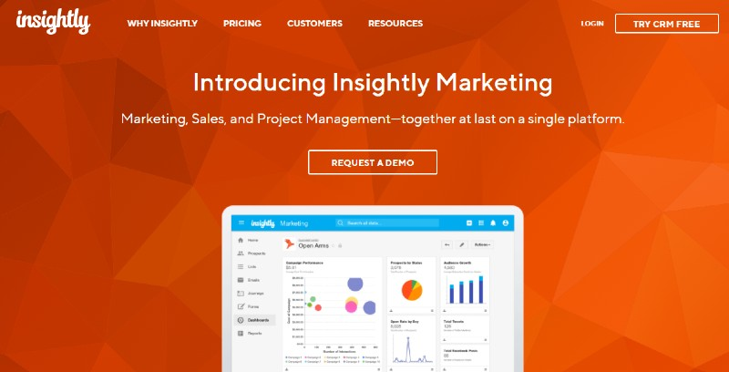 Insightly - Best Lead Management Software