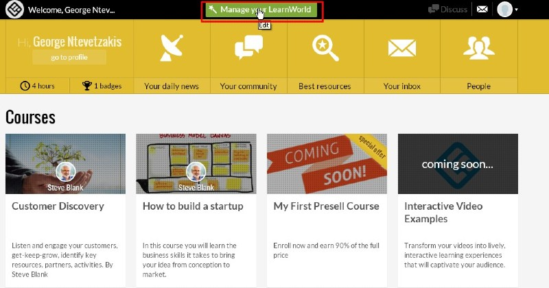 Magic authoring - LearnWorlds Review: Create and Sell Online Courses