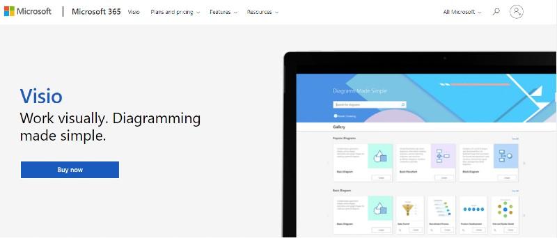 Microsoft Visio - The Best Flowchart Software