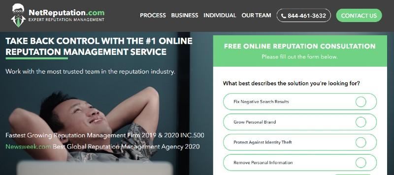 NetReputation - Best Online Reputation Management Companies