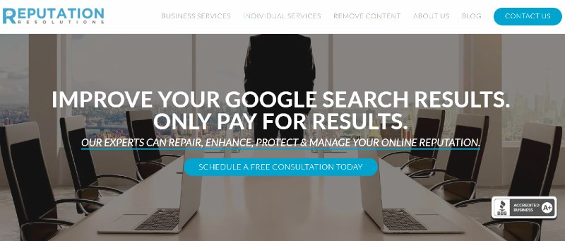 Reputation Resolutions - Best Online Reputation Management Companies