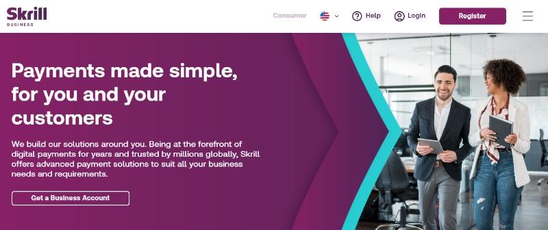 Skrill - Best PayPal Alternatives