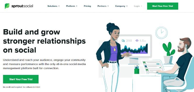 Sprout Social - Best Online Reputation Management Companies
