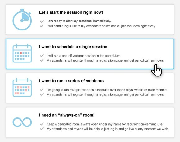 Flexible scheduling - Webinar Jam Review