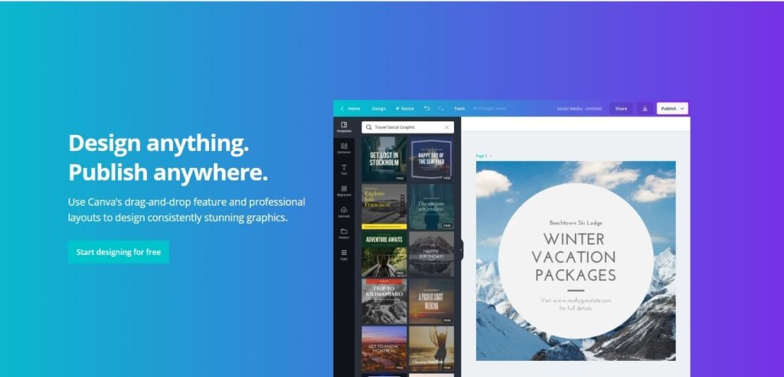 Canva Design Platform