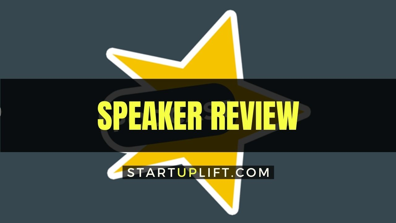 Speaker Review Pricing Pros And Cons Features And Customer Support