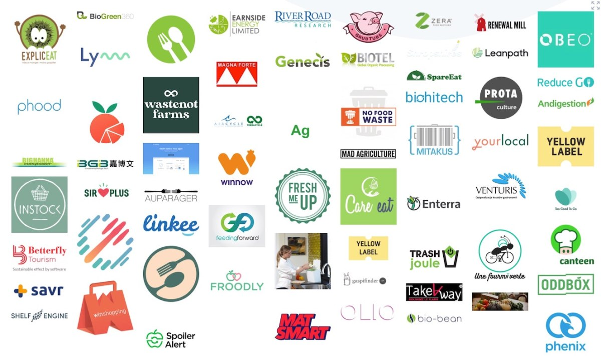 Startups who combat food waste