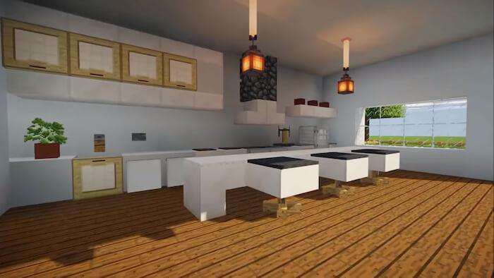 Minecraft Cozy Kitchen Ideas Novocom Top