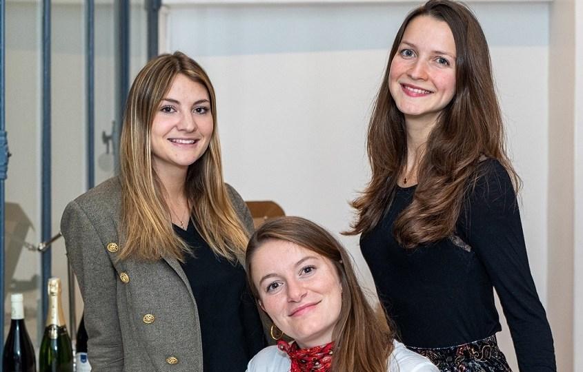 trois startuppeuses pour Cuvée privée
