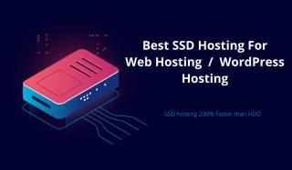 ssd hosting for web hosting and wordpress hosting