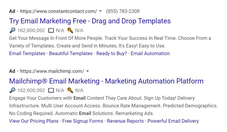 google ads example generator