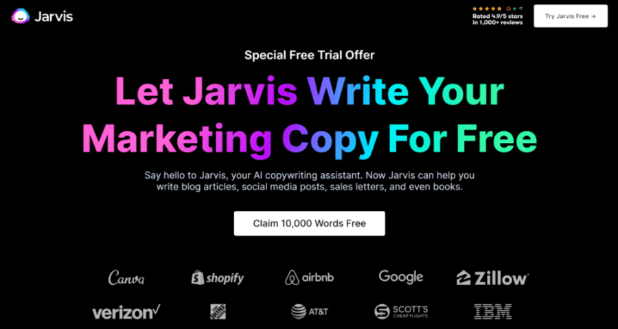 jarvis.ai free trial