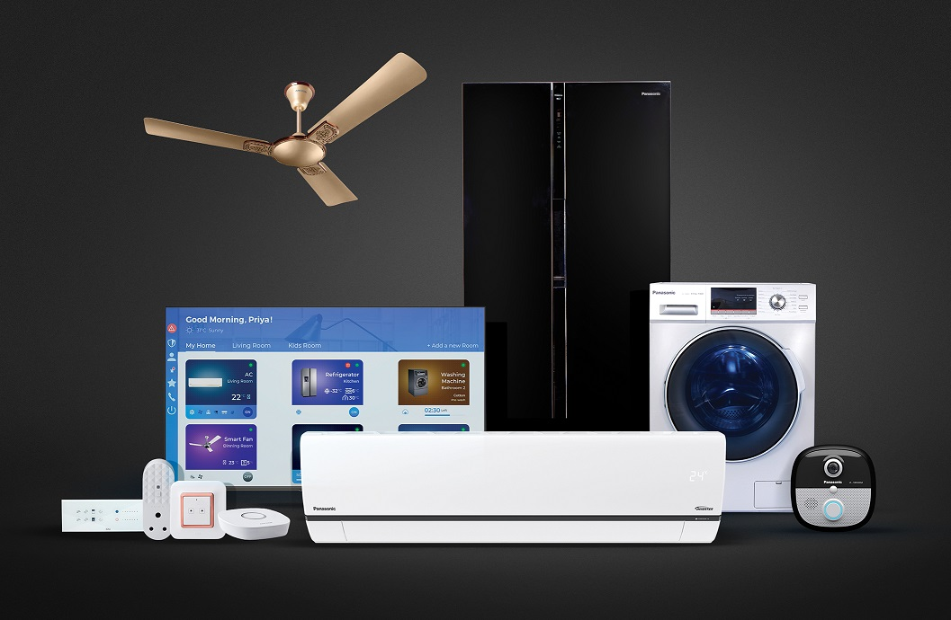 PANASONIC BETS BIG ON CONNECTED LIVING SOLUTIONS; EXPANDS  MirAIe RANGE