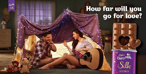 This Valentine's Day Cadbury Dairy Milk Silk is inspiring you to Go Far For Love!