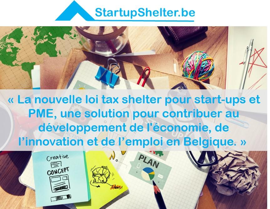 Hourra Hourra, vive la nouvelle loi tax shelter pour start-ups et PME!