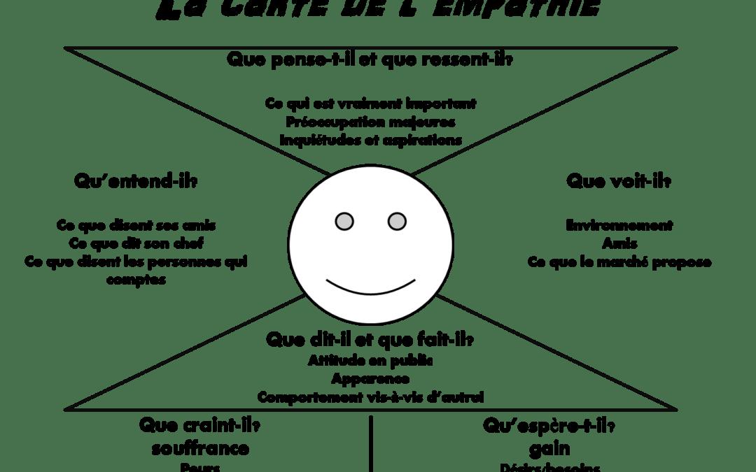 La carte de l'empathie