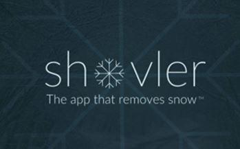 shoveler snow removal app