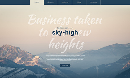 Business Services WordPress Theme