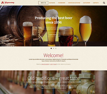 Brewery WP Theme