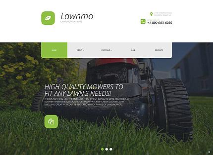 Lawn Mower Parts WordPress Theme