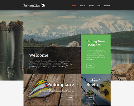 Fishing WordPress Theme