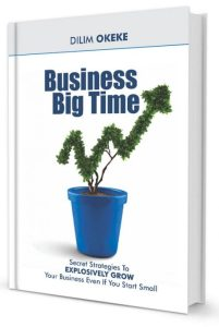 BUSINESS BIG TIME: Secret Strategies To EXPLOSIVELY GROW Your Business Even If You Start Small