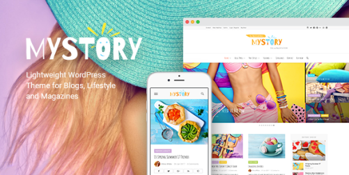 MyStory - Blog & Magazine WordPress Theme