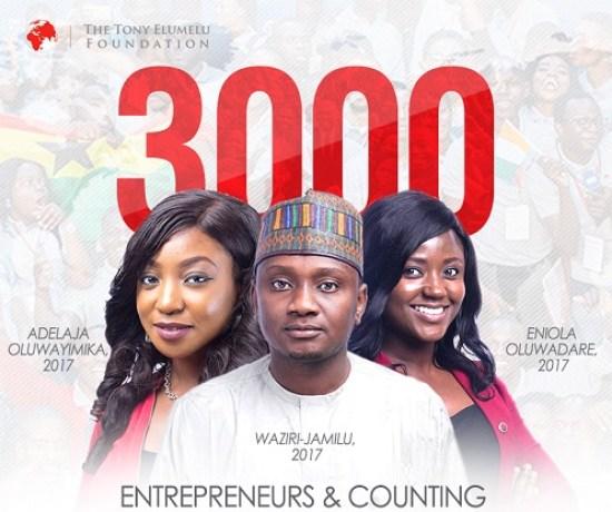 The Tony Elumelu Entrepreneurship Program 2018