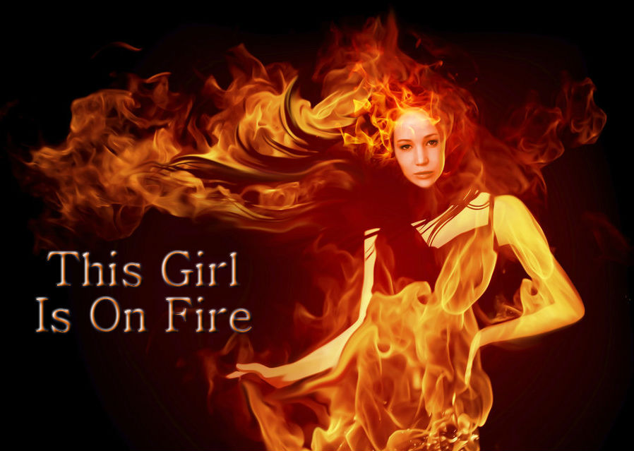 This Girl Is On Fire  Startuptown