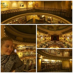 El Ateneo bookstore converted from a theater