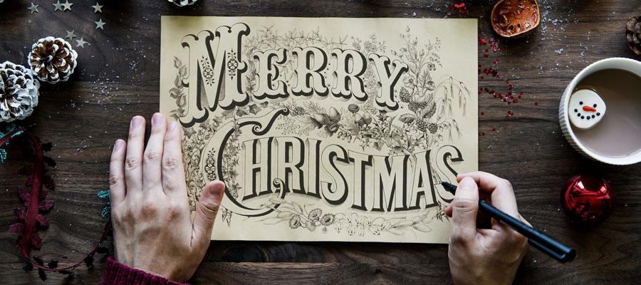 Weihnachtskarte (Bild: Peak)