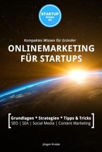 StartUpWissen.biz Buch Onlinemarketing für StartUps Cover klein (Bild: StartUpWissen.biz)