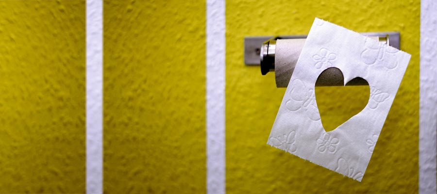 Toiletten Marketing Klowerbung (Bild: Pixabay)