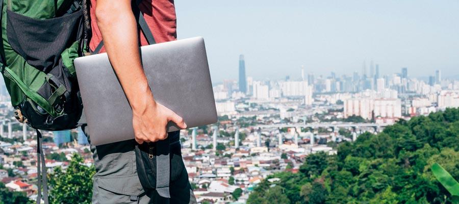 Digitaler Nomade Tipps (Bild: Shutterstock)