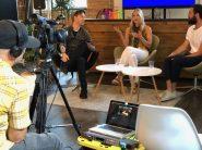 Canadian Tech Blog BetaKit Recording Live on Facebook