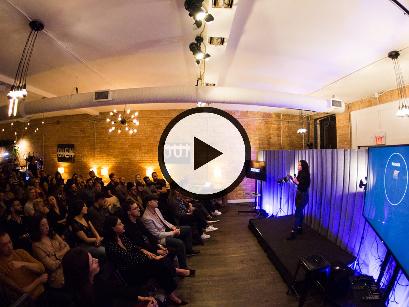 "Calla Lee presents ""Tinder"" at Dark Futures YYZ 2019"