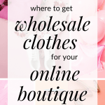 Starting an online clothing boutique but unsure about where to buy wholesale clothing? Click through for a list of tradeshows and wholesale marketplaces for online boutique owners. All based in America