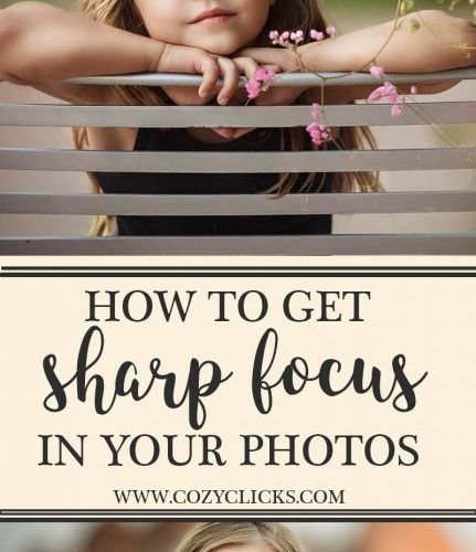 Get super sharp focus in your photos every time following these simple tips. Rea…