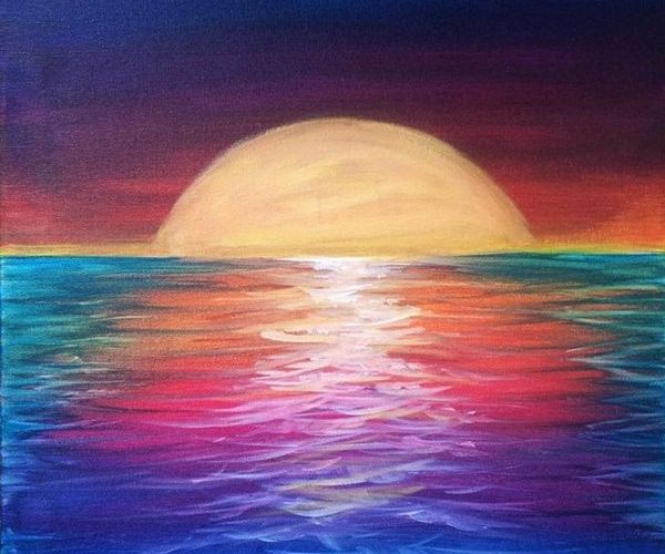 80 Artistic Acrylic Painting Ideas For Beginners…