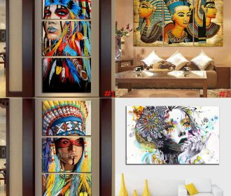 Unframed HD Print Pictures Wall Artwork for Home Living Room Decorative Painting