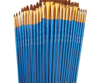 Artist Paint Brushes Set Art Painting Supplies Acrylic&Oil Paintings Kids 12Pcs
