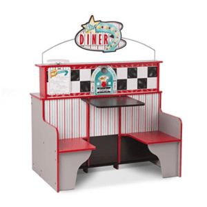 toy kitchens kitchen display best wooden star walk kids reversible and diner