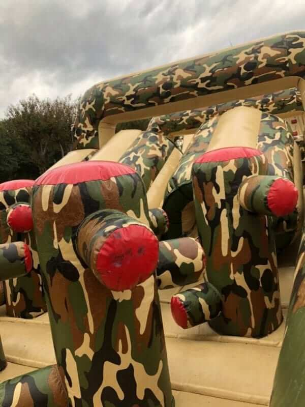 boot camp inflatable obstacle course