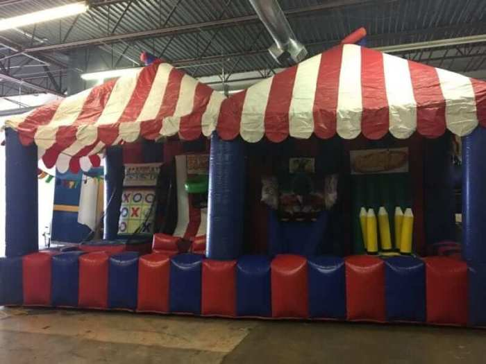 Carnival Game Tent with Midway